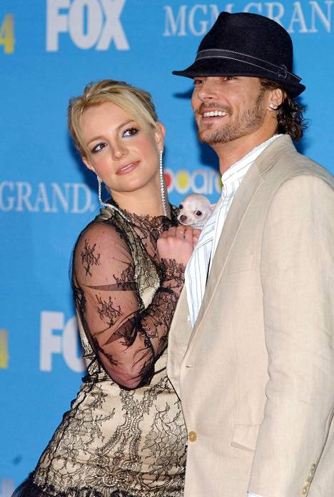 Britney Spears ja Kevin Federline.