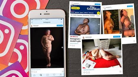 """""""Kaikille pitää olla samat säännöt ja kaikenlaisten kehojen pitää saada näkyä. Lihava keho ei ole automaattisesti irvokas tai seksuaalissävytteinen"""", aktivisti Tytti Shemeikka sanoo."""