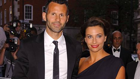 Ryan ja Stacey Giggs vuonna 2010.
