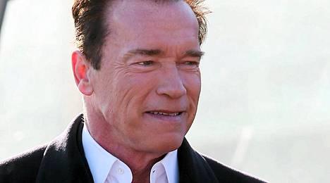 Arnold Schwarzenegger Moskovassa.