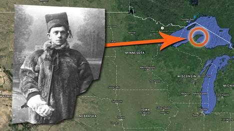 Suomalaissiirtolaisten määrä Keweenawin niemimaalla alkoi kasvaa 1880-luvulla.