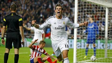 Gareth Bale ratkaisi Real Madridille Mestarien liigan voiton.