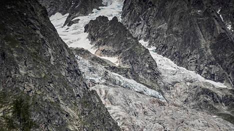 Planpincieuxin jäätikön on havaittu liikkuneen.