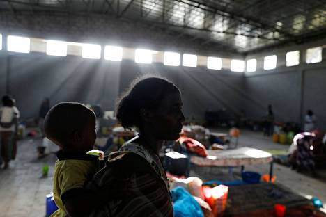 Unicef on syvästi huolissaan lasten asemasta Tigrayn alueella Pohjois-Etiopiassa.