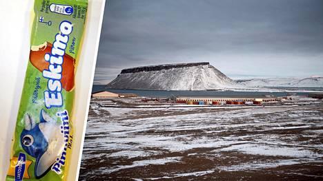 Suomalaisille tuttu Eskimo-jäätelö on nimetty Grönlannin ja Kanadan pohjoisosien alkuperäisasukkaista käytetyn nimityksen mukaan.