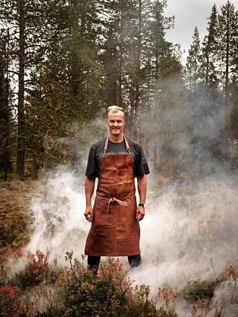 Tero Mäntykangas hakee kesällä makumaailmaan vaikutteita aasialaisesta keittiöstä.