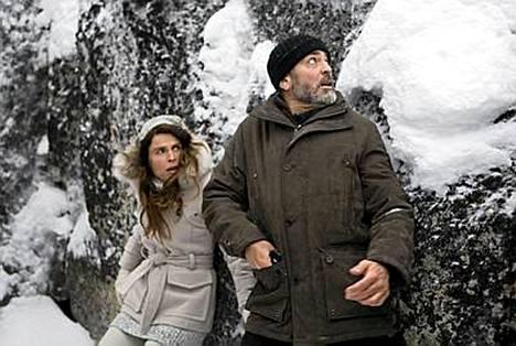 George Clooney ja Irina Björklund nähdään yhdessä The American -elokuvassa.