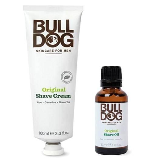 Bulldog Original Shave Cream -parranajovoide 8,90 € ja Beard Oil -partaöljy 14,50 €, mm. Stockmann.