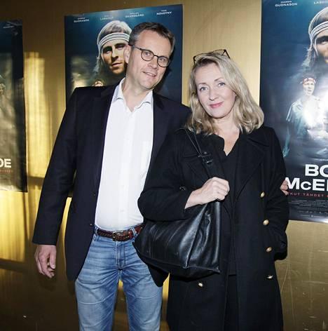 Katariina Kaitue ja Matti Vänskä laittoivat kotinsa myyntiin.