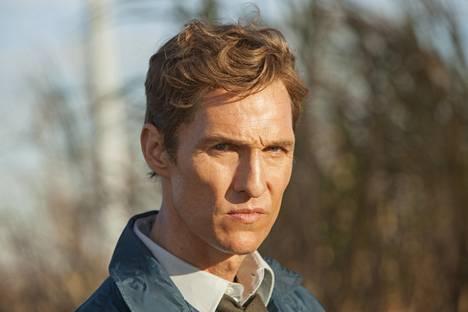 True Detective -sarjassa Matthew McConaughey näyttelee rikosetsivä Rusty Cohlea.