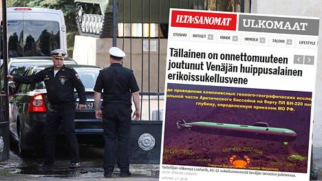 Kaikkien turmassa kuolleiden merisotilaiden kerrotaan olleen kirjoilla pietarilaisessa salaisessa laivaston yksikössä. Kuva on Peterhofin laivastotukikohdan porteilta.