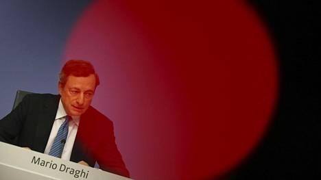 EKP:n pääjohtaja Mario Draghi