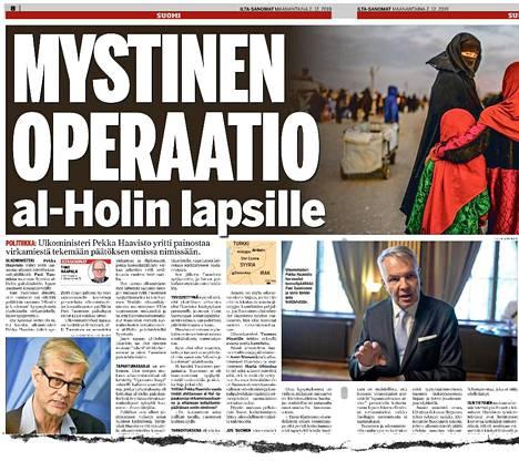 IS paljasti ulkoministeri Pekka Haaviston hankkeen vuosi sitten.