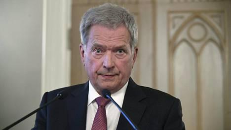 Presidentti Sauli Niinistö soisi uuden hallituksen pohtivan selkeän poliittisen päätöksen tekemistä al-Holin suomalaisten kotiuttamisesta.