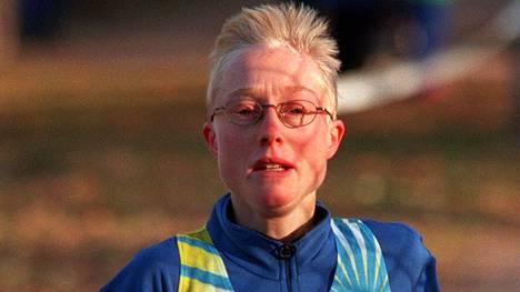 Sara Wedlund oli Ruotsin 90-luvun parhaita kestävyysjuoksijoita.
