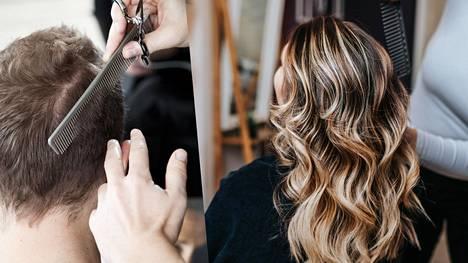 """Asiantuntijan mukaan parturi-kampaaja käyttää erilaista ammatillista osaamista eri töihin. """"Kun puhutaan parturipuolen leikkauksista, käytetään maskuliinisia muotoja, niin sanottua kantikkuutta. Kun tehdään kampaamopuolen töitä, siellä on pehmeät ja pyöreät, feminiiniset muodot."""""""