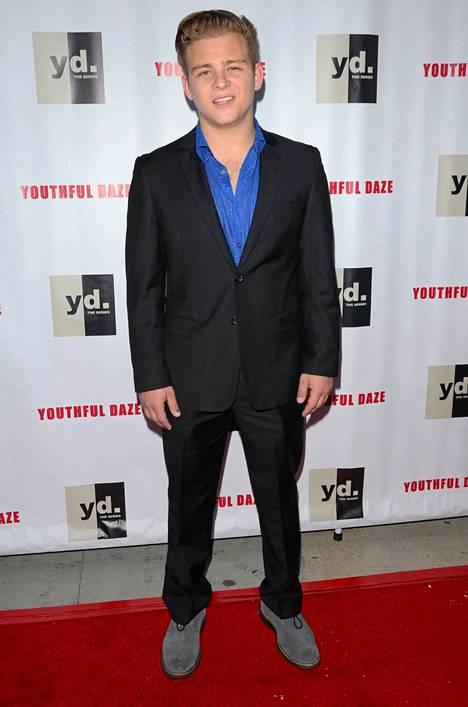 Jonathan Lipnicki kuvattuna elokuussa.