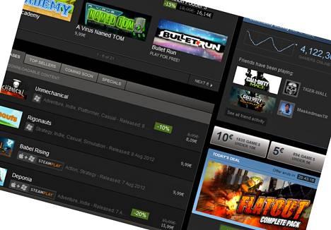 Valve-peliyhtiöllä on jo Steam-verkkopalvelu. Seuraavaksi siltä odotetaan Steam Box -pelikonsolia.