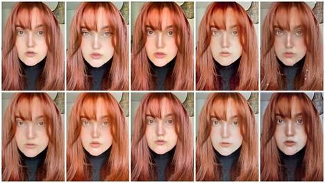 Suurin osa filttereistä silotti ihoa ja kavensi nenää. Arvaatko, missä näistä kuvista ei ole filtteriä? Vastaus löytyy jutun lopusta.