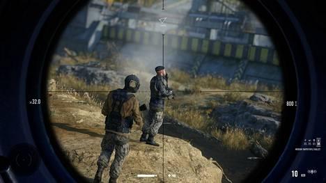 Sniper Ghost Warrior Contracts 2:ssa pelaaja laitetaan palkkamurhaaja Ravenin saappaisiin.