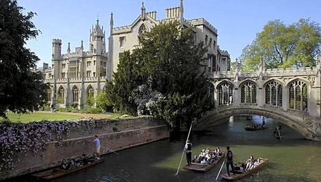 Cambridge on arvioitu Britannian kauneimmaksi kaupungiksi.