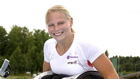 Amanda Kotaja voitti MM-kultaa.