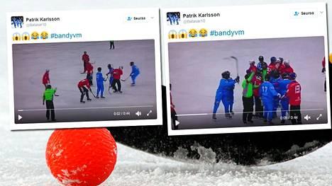 Video Somalian pelaajien törkytempuista levisi Twitterissä.