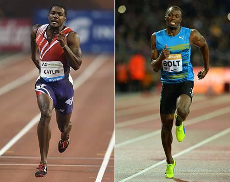 Kaikki odottavat tätä otatusta: kumpi on maailman nopein mies, Justin Gatlin vai Usain Bolt?