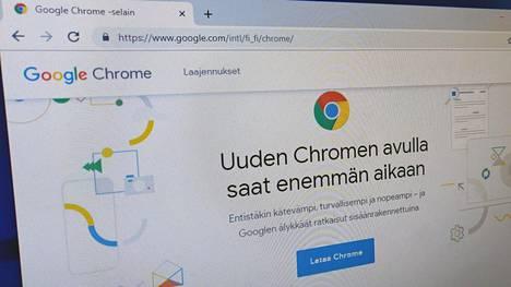 Chrome-selain kerää suuret määrät seurantaan tarkoitettuja evästeitä.