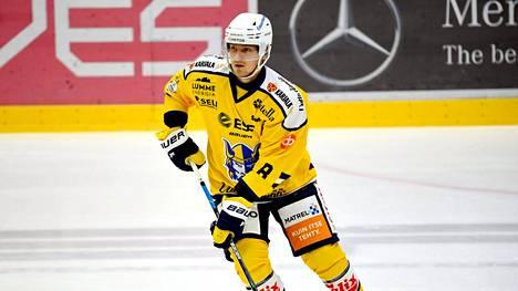 Mikko Kokkonen pelasi viime kauden Jukurien SM-liigajoukkueessa.