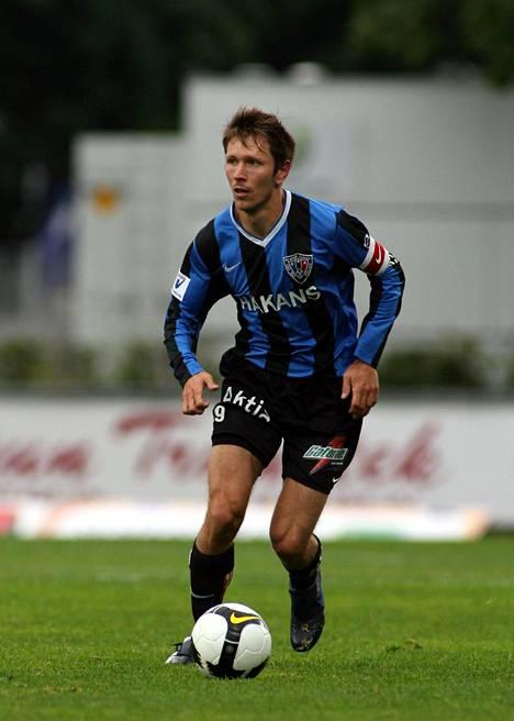 Henri Lehtonen pelasi Interissä mestaruusvuonna 2008.