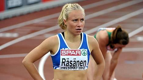 Ella Räsänen rikkoi Riitta Salinin ennätyksen.
