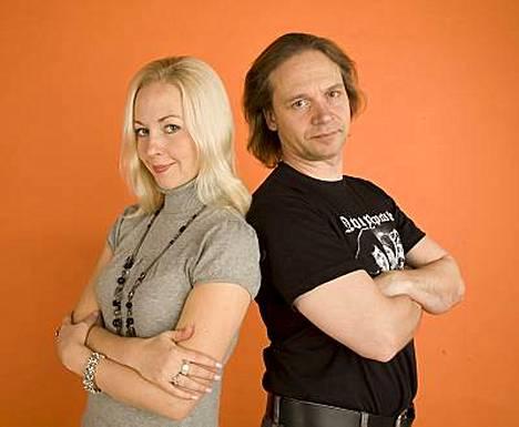 Krisse ja Eppu Salminen saivat oman Ne Salmiset -talkshownsa.