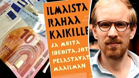 Perustuloa puolustavan bestsellerin kirjoittanut hollantilainen Rutger Bregman vieraili puhumassa Suomessa torstaina.