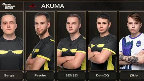 Akuma on tällä hetkellä Counter-Striken kuumin joukkue, muttei vakuuttavien peliotteiden vaan huijaussyytösten takia.