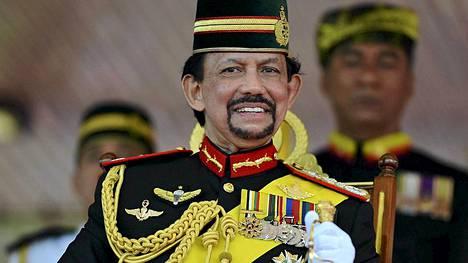 Bruneita johtaa sulttaani Hassanal Bolkiah.