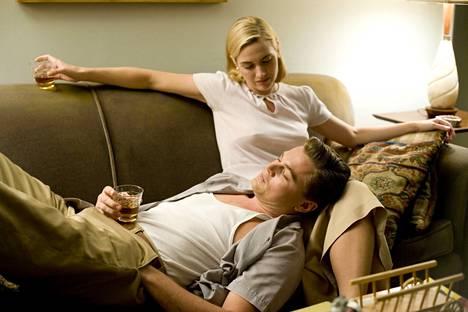 Kate Winslet ja Leonardo DiCaprio palasivat yhdessä valkokankaalle vuonna 2008 elokuvassa Revolutionary Road.