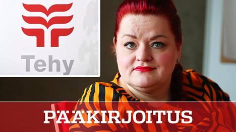 Tehyn puheenjohtaja Millariikka Rytkönen on luonut niin kovat paineet palkkavaatimuksiin, että niistä on vaikea perääntyä.