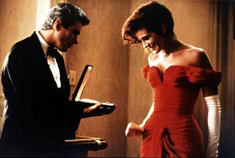 Edwardin ja Vivianin rakkaustarinasta tuli 1990-luvun hitti.