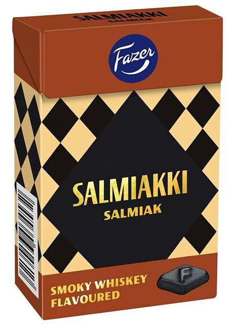 Fazer Salmiakki Smoky Whiskey Flavoured