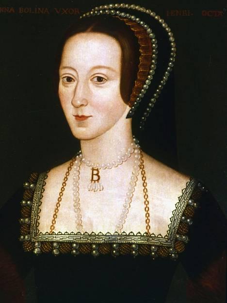 Anna Boleyn mestattiin 1536.