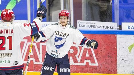 HIFK:n Iikka Kangasniemi ratkaisi joukkueelleen voiton jatkoajalla.
