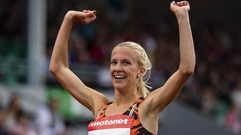 """Kestävyysjuoksija Camilla Richardsson palasi pitkältä kilpailutauolta – """"Tosi hyvin kulki"""""""