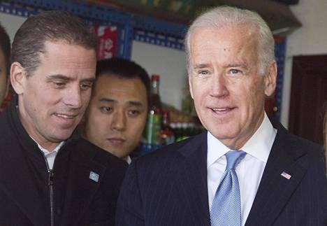 Joe ja Hunter Biden Pekingissä 2013.