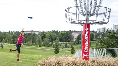 Tällä viikolla Paul McBeth heittää Nokialla European Open -kilpailussa.