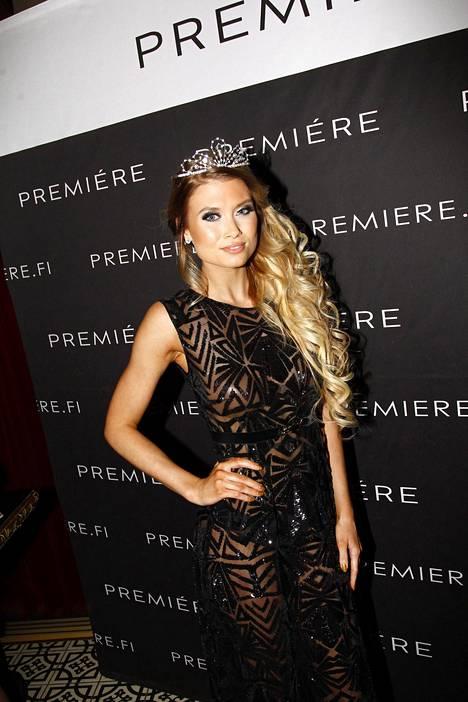 Miss Helsinki 2015 Isabel Ljungdell.