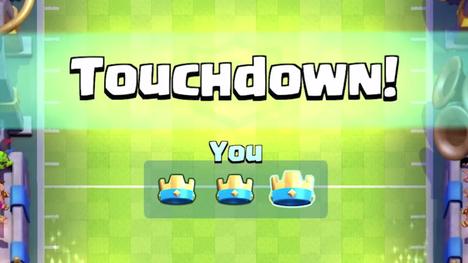 Touchdown-pelitila ottaa mallia amerikkalaisesta jalkapallosta. Pelitilaa pelataan kahden hengen joukkueina.