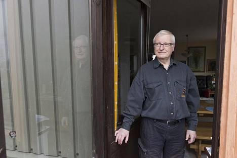 Paavo Leppänen, 77, ei edes odota, että talo myytäisiin alle kymmenessä vuodessa.