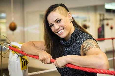 Eva Wahlström tietää, että Katie Taylor on kova vastustaja.