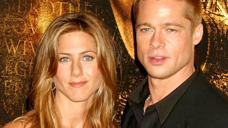 Jennifer Aniston ja Brad Pitt olivat aikansa Hollywoodin superpari.